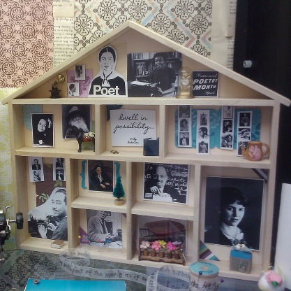 Poets' House Display for National Poetry Month